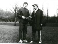 S trenérem Miloslavem Vlčkem