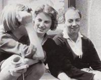 Hanuš Gaertner with Salomea Genin, Berlin 1964