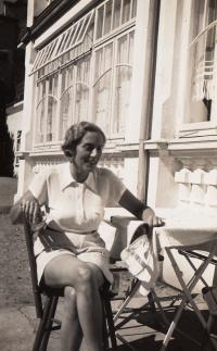 Edita Gaertner, matka