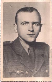 Mikuláš Šereťuk 25. března 1945 v Kežmaroku