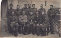 Absolventi důstojnické školy 10. března 1945 v Kežmaroku