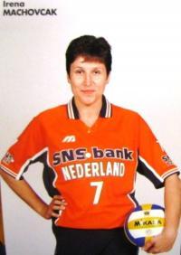 Irena Králová, oficiální fotografie v holandském národním týmu, 90. léta 20. století