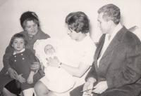13.11. 1968 Celá rodina pohromadě