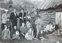 Češi v obci Bohdan na Podkarpatské Rusi