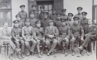Members of the financial guard from the vicinity of the village Bohdan