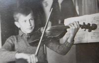 Jaroslav Palka as a young boy