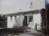 Obchod v obci Bohdan na Podkarpatské Rusi