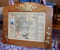Pamětní list legií otci Františku Palkovi