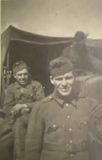 Vojtěch Cimbolinec in the 1st Czechoslovak Army Corps