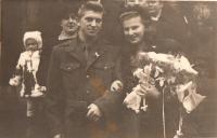 svatba ve vojenském 1949