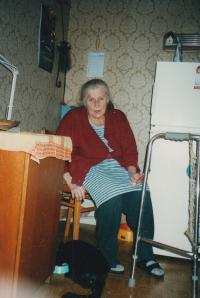 wife Vlasta, 78 years, died 2008