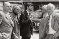 S Jiřím Vyvadilem, 1990