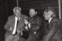 S Josefem Tomášem, 1992