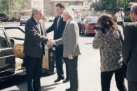 S předsedou vlády Milošem Zemanem