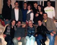 Věra Idan s rodinou