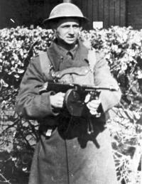 Vladimír Maděra vojákem v Anglii