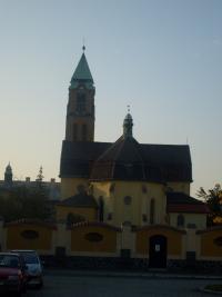 Dlouholeté působiště Mons. Hýži - kostel Panny Marie Růžencové v Plzni