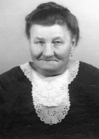 Granny Amálie Petlachová - Svobodová from Brno in 1940