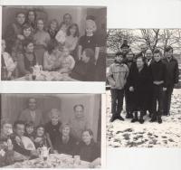 Rodina Anny Havelkové v sedmdesátých letech