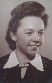 Zdena Zajoncová, 1940