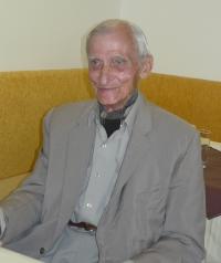 Otakar Černý přijel na návštěvu Prahy v červnu 2009