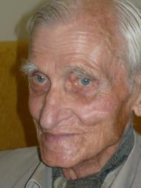 Otakar Černý detail tváře v roce 2009