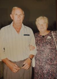 Manželé Dražilovi při příležitosti 40. výročí svatby
