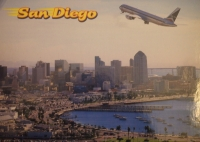 San Diego, hodina a půl cesty od Fallbrooku, více než milion obyvatel