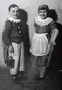 V Broučcích s Evou Kubánkovou, v pěti letech