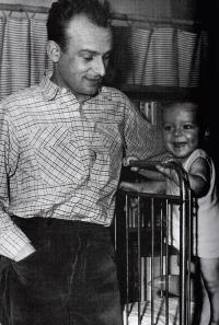 Stanislav Zindulka se synem Ondřejem