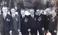 Uprostřed František Motyčka