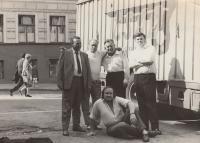 Moskva 1969 s Karlínským divadlem, Antonín Bořek - Dohalský dole