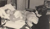babička Gabriela Kinská Thurn - Taxis před smrtí v Kremseggu