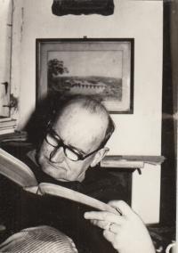 JUDr. Jiří Bořek - Dohalský, pamětníkův otec