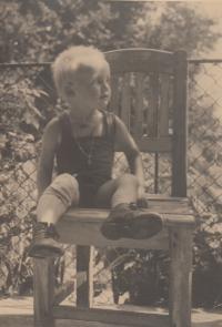 Antonín Bořek - Dohalský na židli