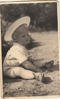 Jiří Bořek - Dohalský ml.  v klobouku