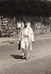 v Jánských Lázních, 1956