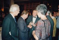 s Václavem Havlem, 1992