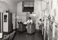 v první knceláři centra dětské onkologie, 1974-5