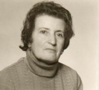 Portrait of the witness, around 1983