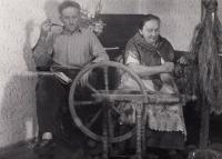Rodiče Milady Kopecké během války