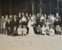 Svatba  sestry Elvíry a Tomáše Rábka na Hraničkách