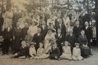 Svatba rodičů Franze a Angely na Rejvízu
