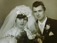 Svatební fotografie Eriky a Gintera Bednarských
