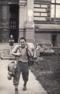 Josef Černý v létě 1959