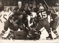 Oslavy vítězství nad hokejisty Sovětského svazu, rok 1969
