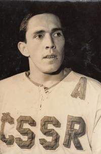 V reprezentačním dresu, rok 1969