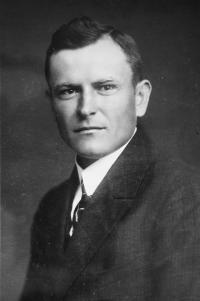 Otec Bohumil Malotín, 1922