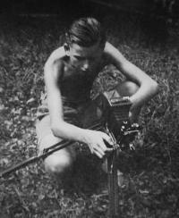 1941, František Malotín
