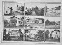 Pre-war postcard of Výškovice